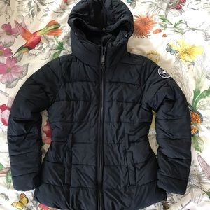 🛍 ABERCROMBIE KIDS black winter jacket